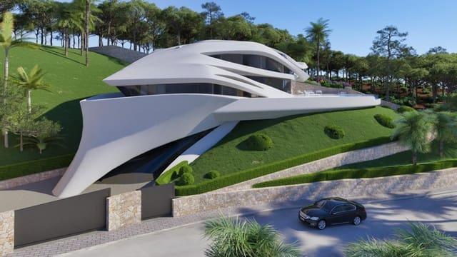 4 sypialnia Willa na sprzedaż w Javea / Xabia z basenem - 3 800 000 € (Ref: 4714324)