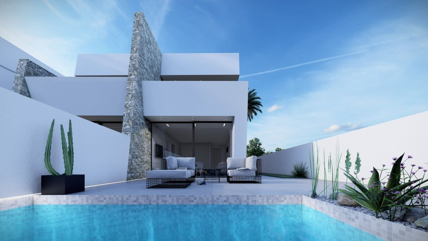 3 bedroom Villa for sale in San Pedro del Pinatar with pool - € 229,950 (Ref: 5221182)