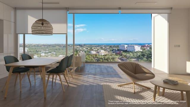 2 sypialnia Penthouse na sprzedaż w Las Colinas Golf z basenem garażem - 370 000 € (Ref: 5221193)