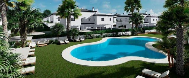 3 sovrum Radhus till salu i Gran Alacant med pool - 251 000 € (Ref: 5756458)