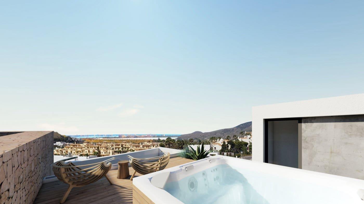 2 sovrum Takvåning till salu i Los Belones med pool - 365 000 € (Ref: 5998392)