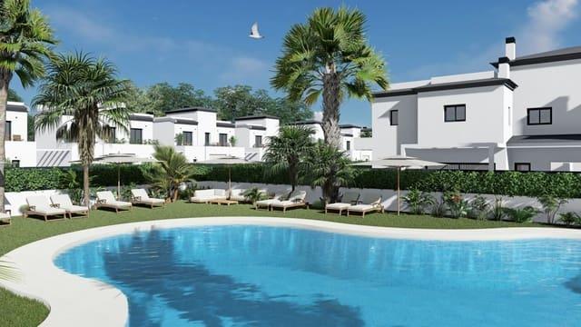 3 sovrum Radhus till salu i Gran Alacant med pool - 251 000 € (Ref: 6182100)