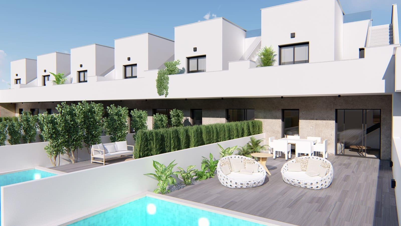 Casa de 3 habitaciones en Pilar de la Horadada en venta con piscina - 205.900 € (Ref: 4926184)