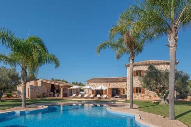 4 chambre Finca/Maison de Campagne à vendre à Campos avec piscine garage - 2 500 000 € (Ref: 5523704)