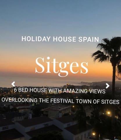 Chalet de 6 habitaciones en Sitges en alquiler vacacional con piscina - 1.750 € (Ref: 5615422)