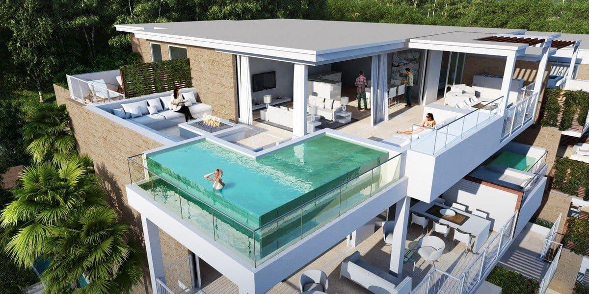 3 bedroom Penthouse for sale in La Cala de Mijas with pool garage - € 482,000 (Ref: 3503233)