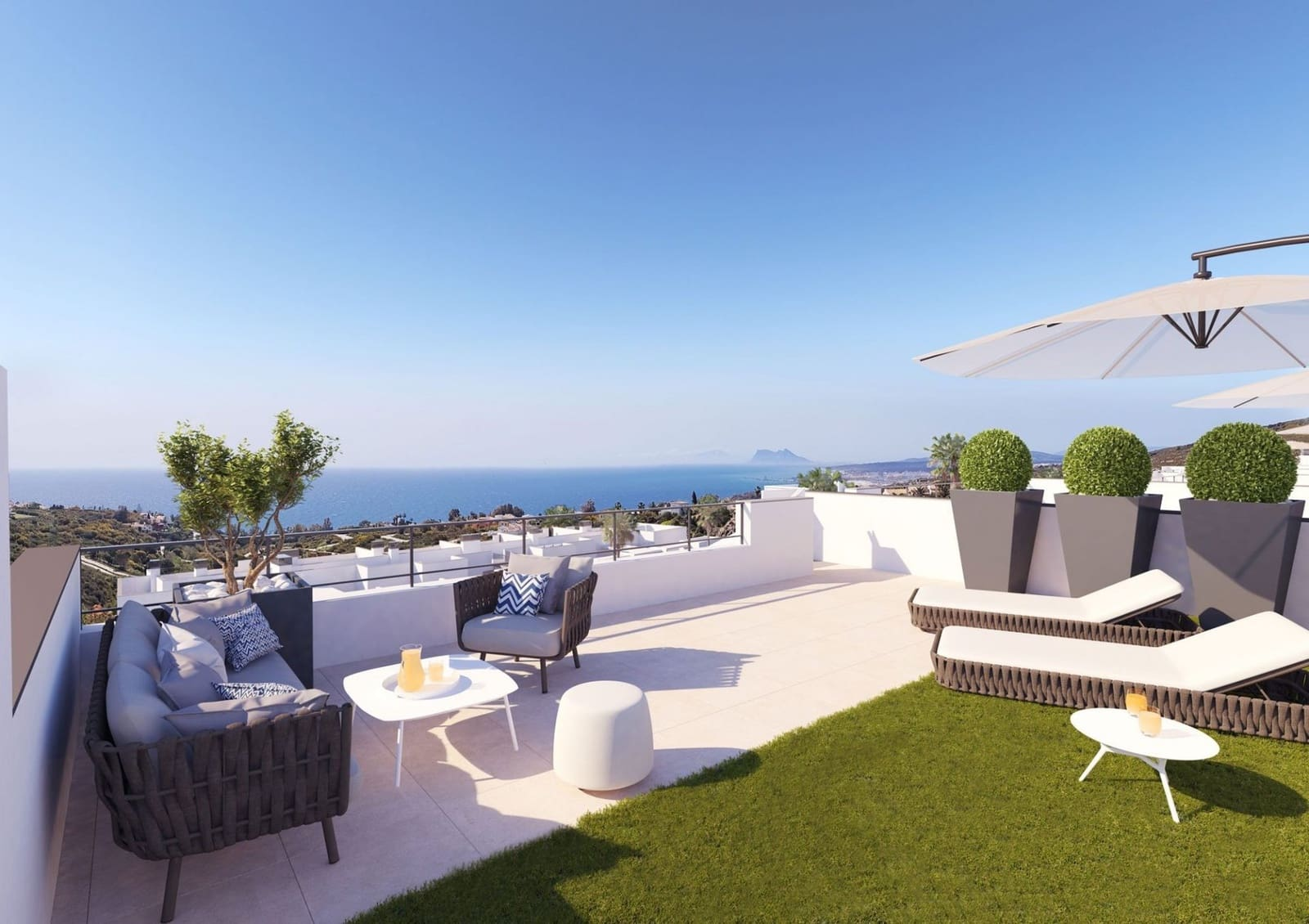 2 bedroom Penthouse for sale in Manilva with pool garage - € 292,000 (Ref: 5144143)