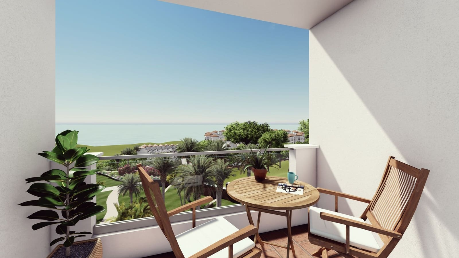 2 bedroom Penthouse for sale in Manilva with pool garage - € 131,900 (Ref: 5166565)