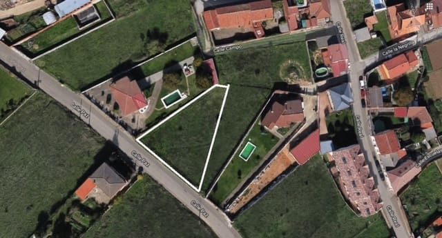Działka budowlana na sprzedaż w Valverde de la Virgen - 55 000 € (Ref: 5647959)