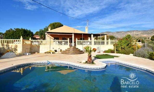 4 sypialnia Willa na sprzedaż w Crevillente / Crevillent z basenem - 210 000 € (Ref: 4955516)