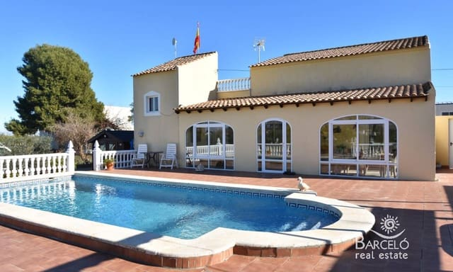 3 bedroom Finca/Country House for sale in Mudamiento with pool - € 295,000 (Ref: 5842224)