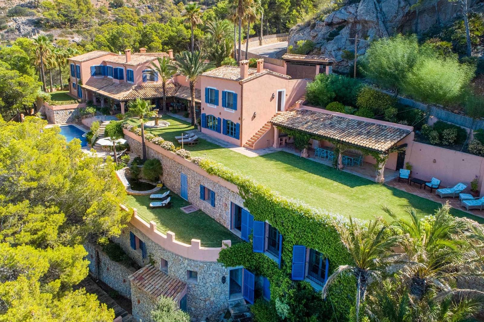 5 soverom Villa til leie i Puerto de Andratx med svømmebasseng - € 25 000 (Ref: 5954336)