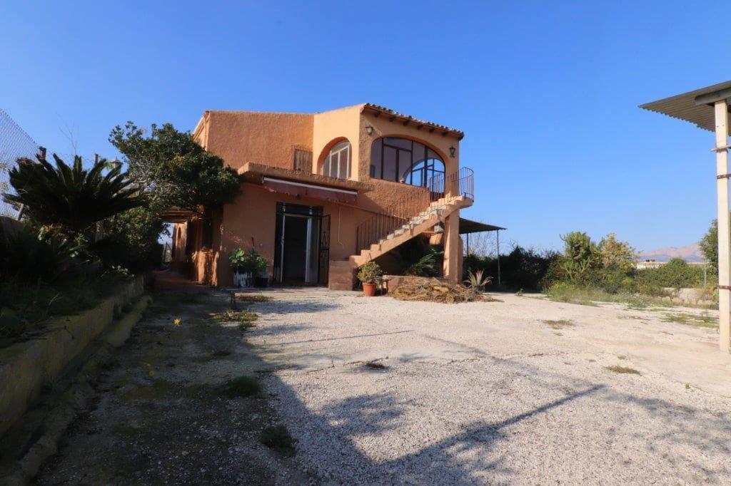 Chalet de 6 habitaciones en Beniarbeig en venta con piscina garaje - 255.000 € (Ref: 5064292)
