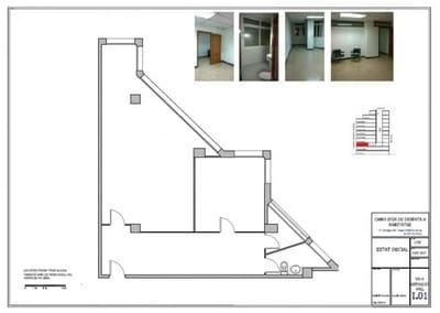 2 bedroom Office for sale in Barcelona city - € 315,000 (Ref: 5299607)