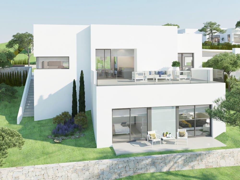 Chalet de 3 habitaciones en Las Colinas Golf en venta con piscina - 495.000 € (Ref: 4039206)