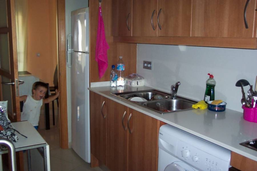2 bedroom Flat for sale in Sant Carles de la Rapita with pool - € 135,000 (Ref: 5214127)
