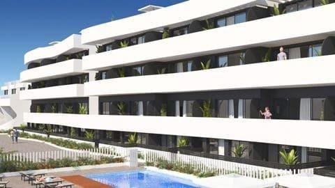 2 chambre Penthouse à vendre à La Marina avec piscine - 260 200 € (Ref: 5999646)