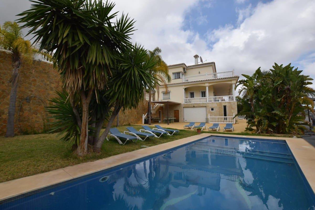 5 slaapkamer Villa te huur in Mijas Golf met zwembad garage - € 3.800 (Ref: 4519417)