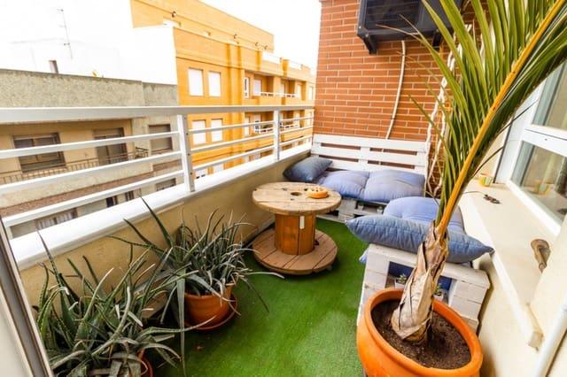 4 sypialnia Mieszkanie na sprzedaż w El Ejido z garażem - 89 900 € (Ref: 6191960)
