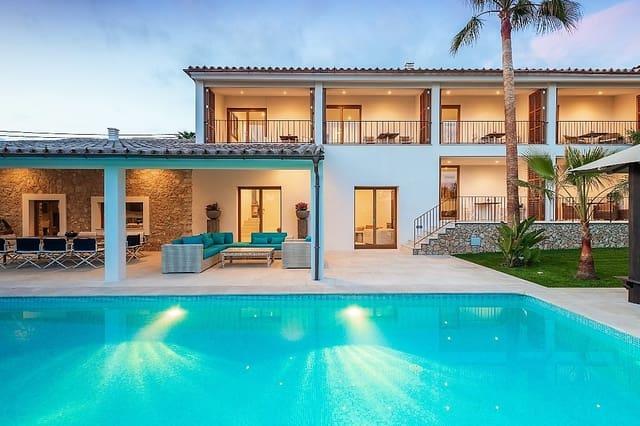 5 sypialnia Willa na sprzedaż w Calvia z basenem garażem - 4 900 000 € (Ref: 5074495)