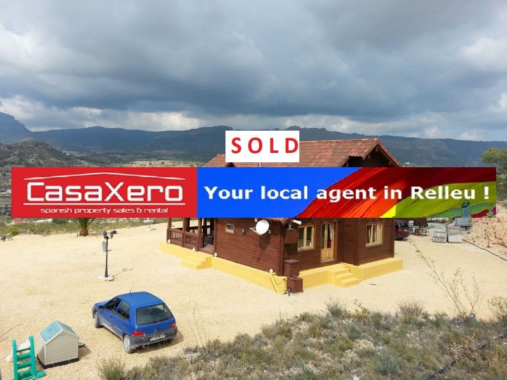 4 bedroom Villa for sale in Relleu - € 175,000 (Ref: 2108676)