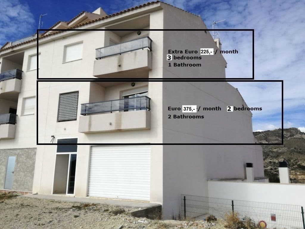2 slaapkamer Appartement te huur in Relleu - € 375 (Ref: 4505953)