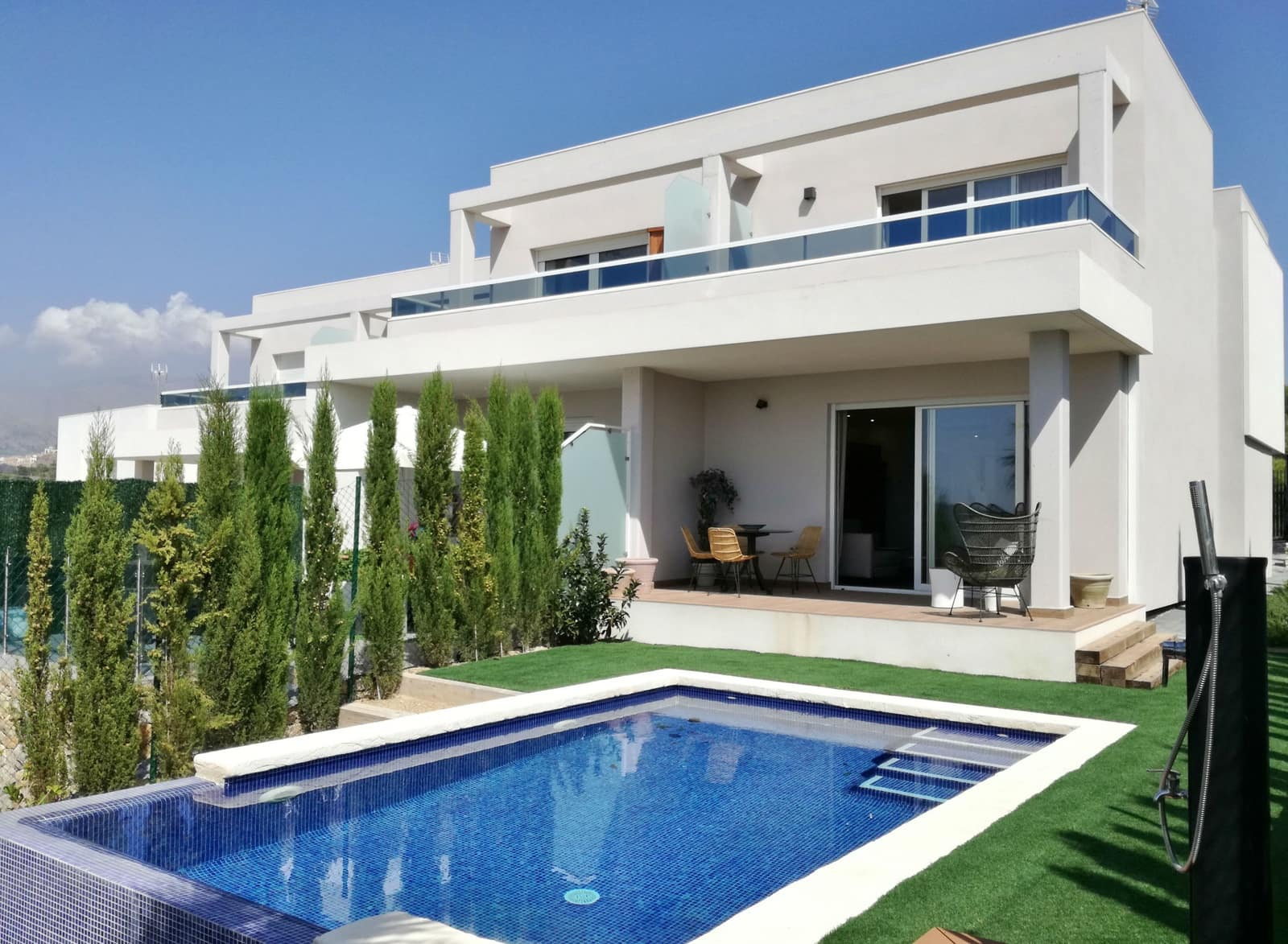 2 bedroom Villa for sale in Finestrat with pool - € 345,600 (Ref: 4781555)
