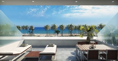 3 Zimmer Penthouse zu verkaufen in La Villajoyosa / Vila Joiosa mit Pool Garage - 340.000 € (Ref: 5208309)