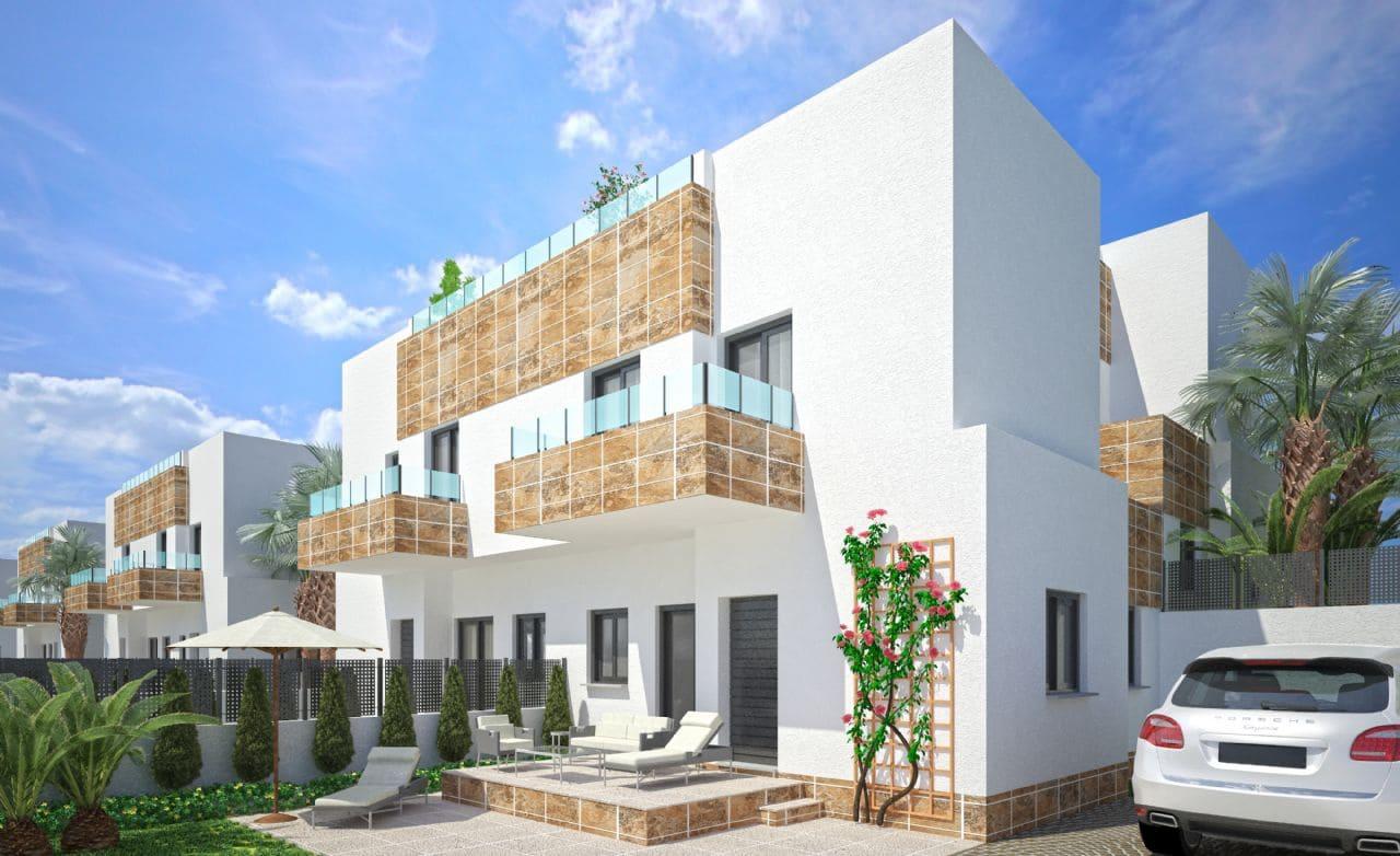 Pareado de 3 habitaciones en Polop en venta con piscina - 197.500 € (Ref: 3711500)