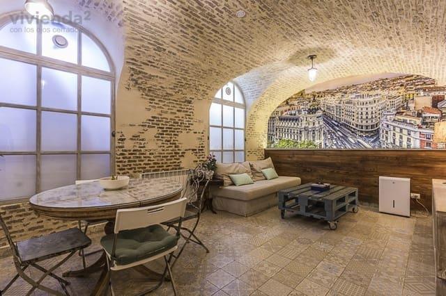 1 soverom Loft til salgs i Madrid by - € 299 990 (Ref: 3599185)