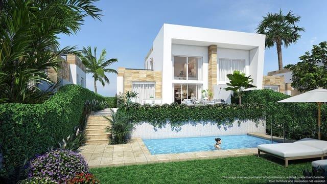 3 makuuhuone Paritalo myytävänä paikassa Algorfa mukana uima-altaan - 265 000 € (Ref: 5884351)