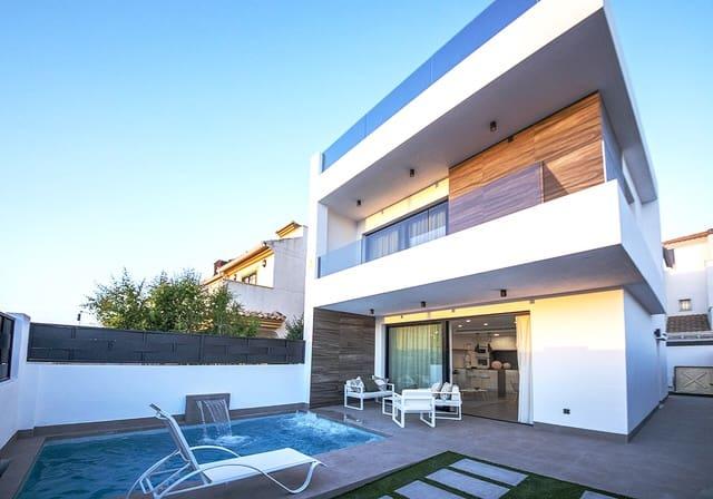 3 makuuhuone Huvila myytävänä paikassa Santiago de la Ribera mukana uima-altaan  autotalli - 265 000 € (Ref: 5884468)