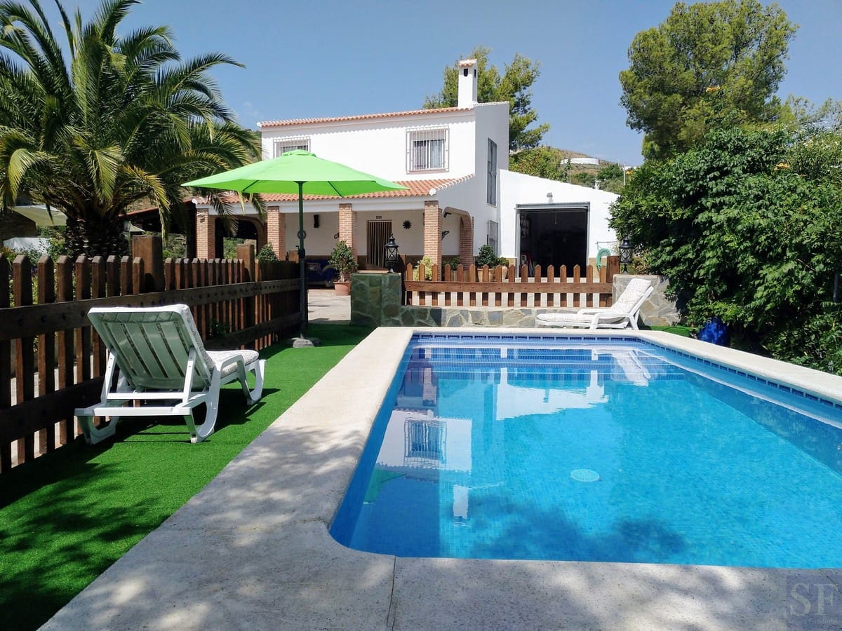 3 bedroom Villa for holiday rental in Competa with pool garage - € 800 (Ref: 6156249)