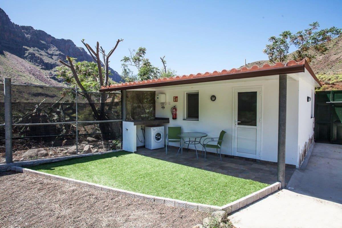 Finca/Maison de Campagne de 1 chambre à louer à Fataga avec piscine garage - 700 € (Ref: 5040471)