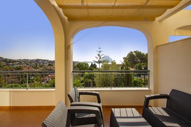 4 chambre Maison de Ville à vendre à Calpe / Calp avec piscine - 273 000 € (Ref: 4110522)