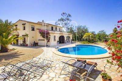 Finca/Casa Rural de 4 habitaciones en Benissa en venta con piscina garaje - 575.000 € (Ref: 4603898)