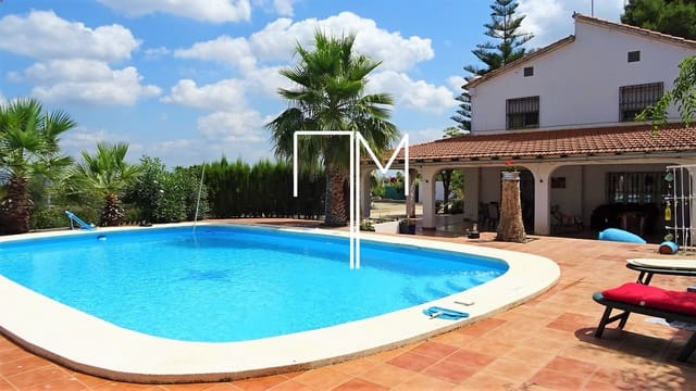 5 bedroom Finca/Country House for sale in Carcer - € 225,000 (Ref: 6205683)