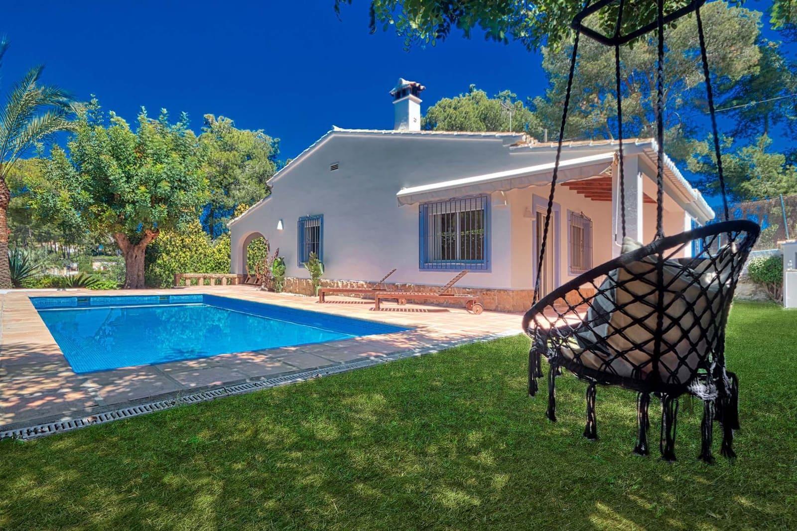 3 slaapkamer Villa te huur in Javea / Xabia met zwembad - € 995 (Ref: 5176036)