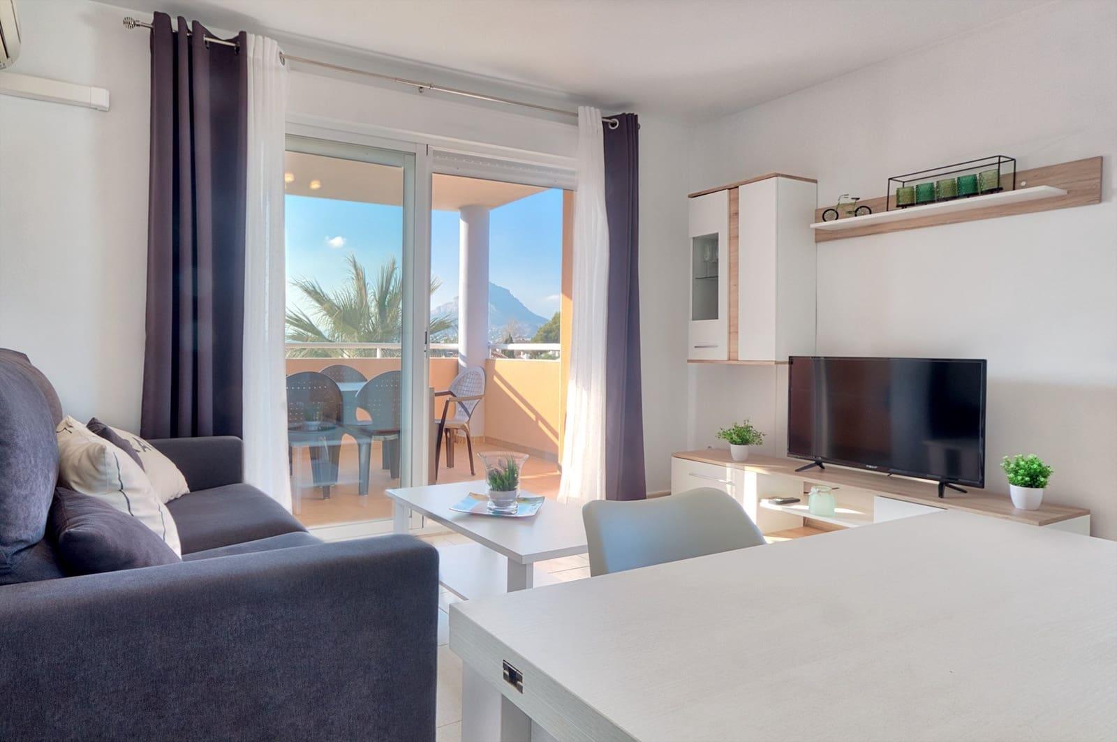 2 soveværelse Penthouse til leje i Javea / Xabia med swimmingpool garage - € 650 (Ref: 5910161)