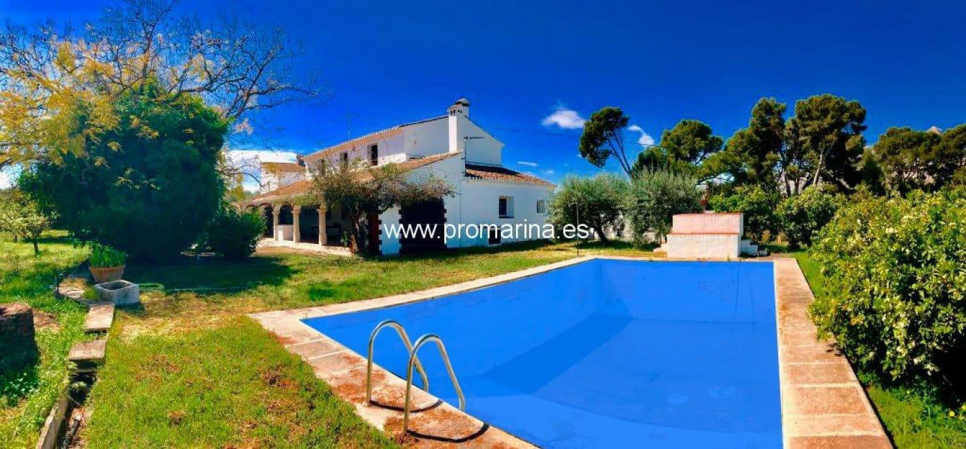 Chalet de 4 habitaciones en Ondara en venta con piscina - 380.000 € (Ref: 5035064)