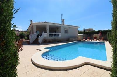 4 sovrum Villa att hyra i Busot med pool - 1 000 € (Ref: 5424510)