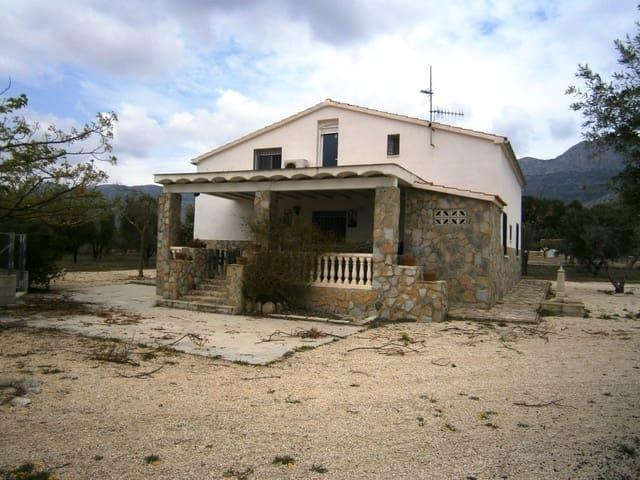 4 bedroom Villa for sale in Alcocer de Planes with pool - € 155,000 (Ref: 5501747)