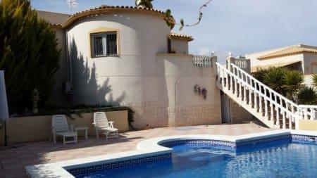 3 soverom Villa til leie i Castalla med svømmebasseng - € 700 (Ref: 5995555)