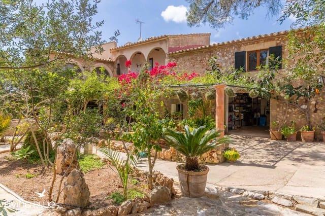 7 chambre Finca/Maison de Campagne à vendre à Portol avec piscine - 590 000 € (Ref: 5539902)