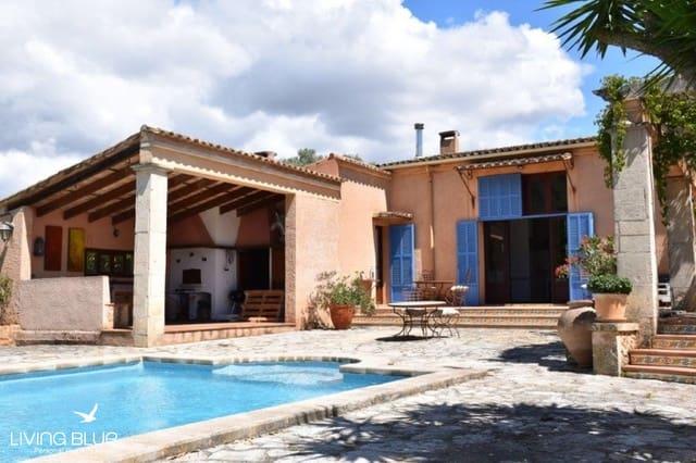 4 chambre Finca/Maison de Campagne à vendre à Santa Eugenia avec piscine - 1 375 000 € (Ref: 5540056)