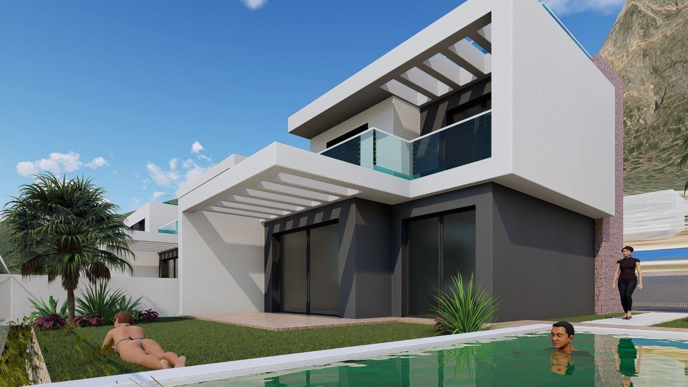 Chalet de 3 habitaciones en Polop en venta con piscina - 348.300 € (Ref: 4713827)