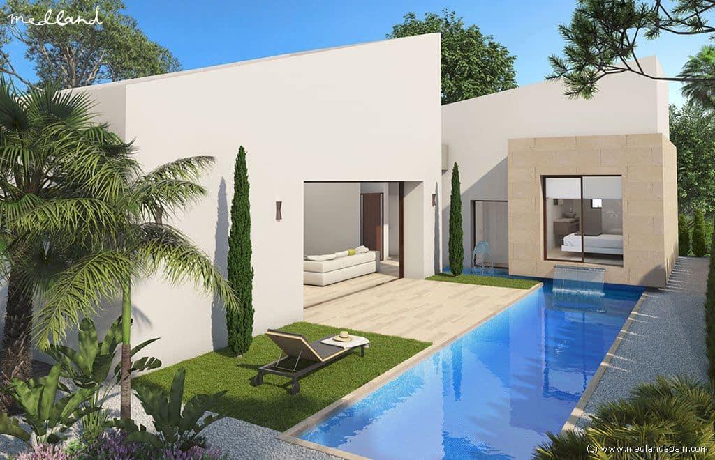 Chalet de 3 habitaciones en Benijófar en venta con piscina garaje - 409.900 € (Ref: 3653256)