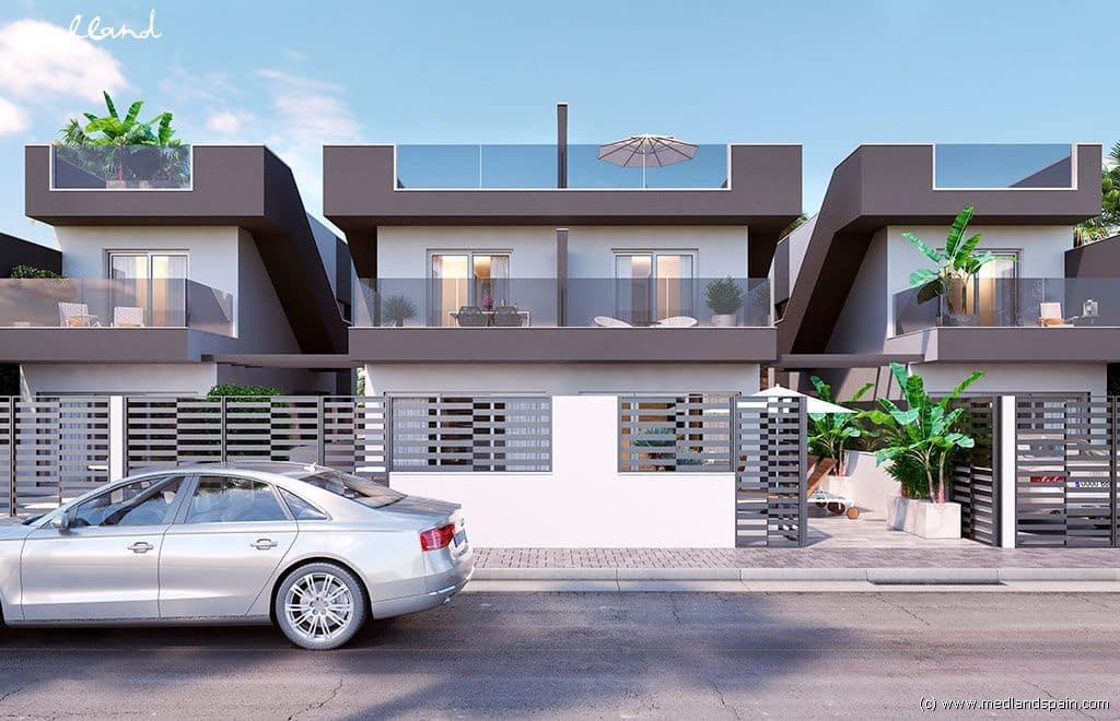 Casa de 3 habitaciones en Pilar de la Horadada en venta con piscina garaje - 260.000 € (Ref: 3914056)