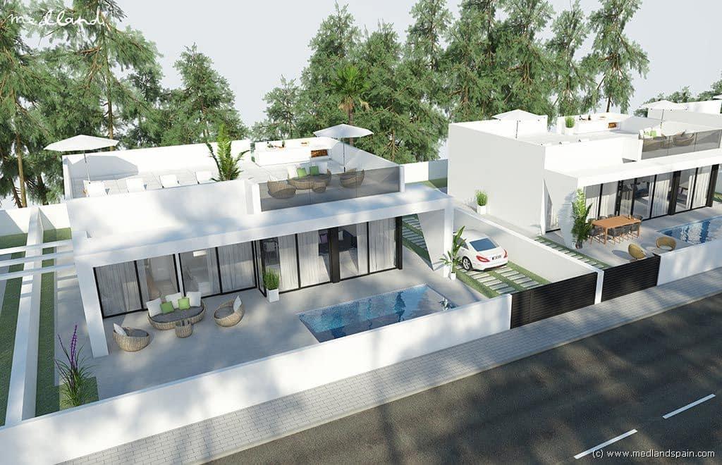 Chalet de 3 habitaciones en Pilar de la Horadada en venta con piscina garaje - 289.000 € (Ref: 4029977)