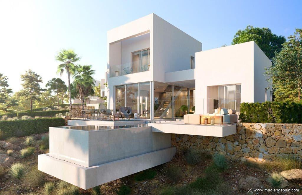 Chalet de 3 habitaciones en Las Colinas Golf en venta con piscina - 890.000 € (Ref: 4182549)